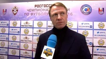 Олег Кононов: «Герой матча – вся наша команда»