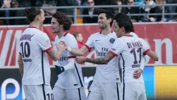 ПСЖ стал чемпионом Франции за восемь туров до конца первенства