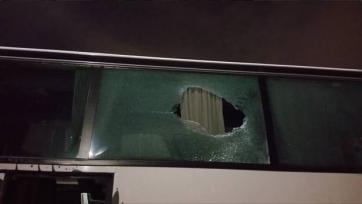Фанаты «Интера» забросали камнями автобус с болельщиками «Болоньи»