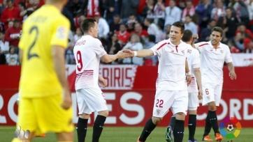 Гол Коноплянки принёс «Севилье» волевую победу над «Вильярреалом»