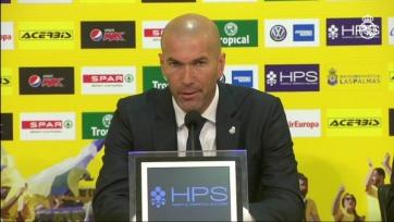 Зидан: «Если мы хотим завоевать трофеи, то должны играть лучше»