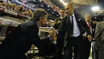 Хосеп Гвардиола интересовался, будет ли Моуринью вновь работать в Англии?