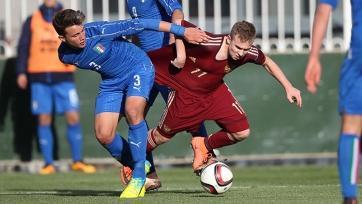 Сборная России с крупным счётом проиграла Италии в матче элитного раунда ЧЕ-2016