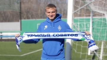 Официально: Сергей Божин продлил контракт с «Крыльями Советов»