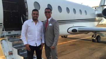 Роналду вновь улетел в Марокко