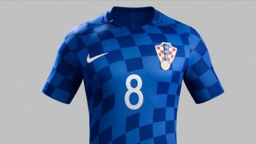 Представлена форма, в которой сборная Хорватии будет играть на Евро-2016