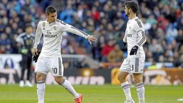 «Реал» выставит на трансфер Иско и Хамеса Родригеса