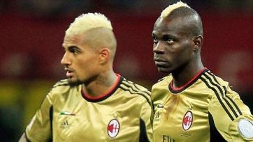Боатенг и Балотелли могут покинуть «Милан»