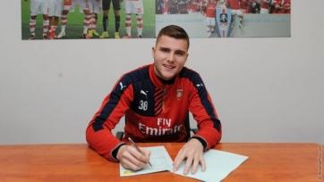 «Арсенал» продлил контракт с 19-летним голкипером