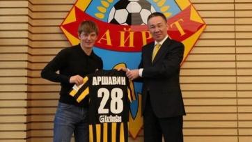 Официально: Аршавин подписал контракт с «Кайратом»