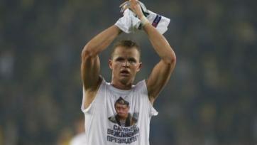 Официально: За футболку с Путиным Тарасов оштрафован на пять тысяч евро