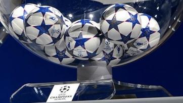 Результаты жеребьёвки 1/4 финала Лиги чемпионов
