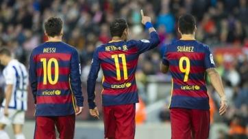 Дель Пьеро: «Будущее «Барселоны» за Неймаром, а не за Месси»