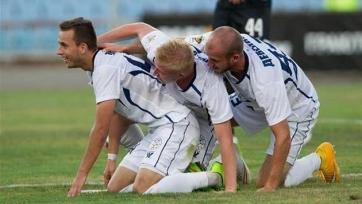 Гол Лазича с пенальти принёс «Стали» победу над «Говерлой»