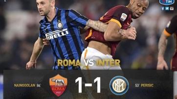 «Рома» и «Интер» разошлись миром