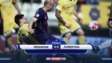 «Фрозиноне» отобрал очки у «Фиорентины»