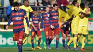 «Вильярреал» смог отыграться, уступая «Барселоне» в два мяча