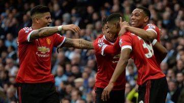 «Манчестер Юнайтед» торжествует в схватке с «Манчестер Сити»
