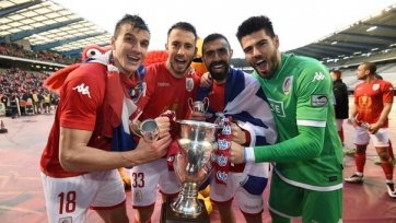 Виктор Вальдес в составе «Стандарта» завоевал Кубок Бельгии