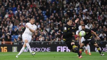 «Реал» уложил на лопатки «Севилью»