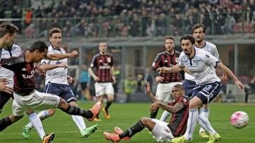 «Милан» поделил очки с «Лацио»