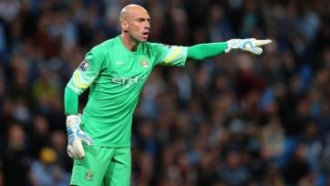 Вилли Кабальеро: «Пауза в чемпионате пойдёт «Манчестер Сити» на пользу»