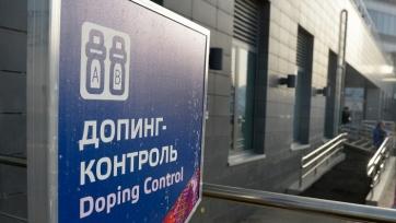Футболисты сборной России пройдут допинг-контроль