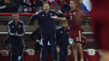 Леонид Слуцкий: «Планируем наигрывать состав близкий к тому, который будет играть на ЧЕ-2016»