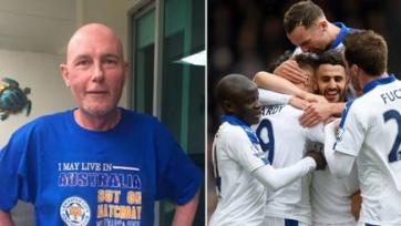 Боление за «Лестер» помогает австралийскому фанату команды успешно бороться с раком