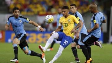 Бразилия потеряла очки в матче с Уругваем