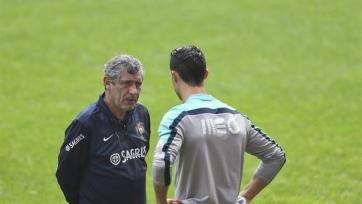 Сантуш надеется, что Роналду приберёг голы для ЧЕ