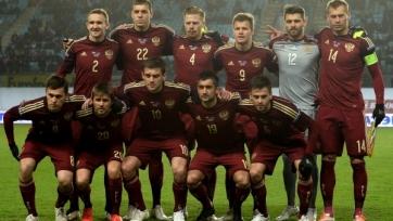 Стал известен стартовый состав сборной России на матч с Литвой