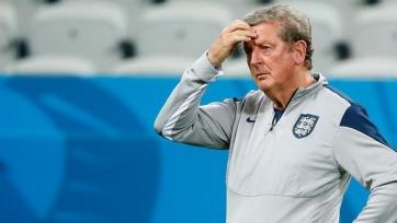 Стартовые составы матча между Германией и Англией