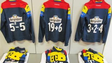 На футболках сборной Румынии вместо номеров будут уравнения