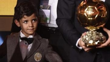 Роналду: «Мой сын обладает качествами спортсмена, хочу, чтобы он стал игроком топ-уровня»