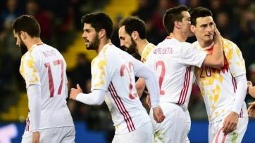 Стал известен стартовый состав сборной Испании