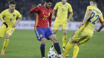 Румыны и испанцы разошлись миром