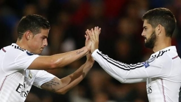 Любители футбола выступают против участия Иско и Хамеса в матче с «Барселоной»