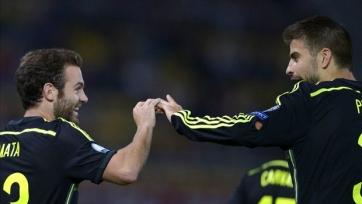 Хуан Мата: «Мы по-прежнему обсуждаем «МЮ» с Пике»