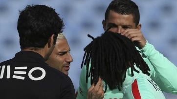 Причёска Ренату произвела впечатление на Куарежму и Роналду (видео)