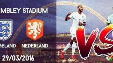 Англия – Нидерланды. Стали известны стартовые составы команд