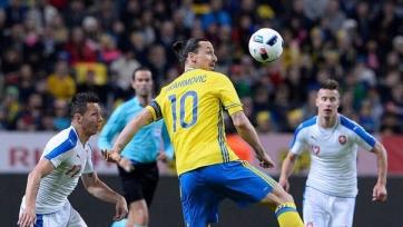 Шведы сыграли вничью с командой Чехии