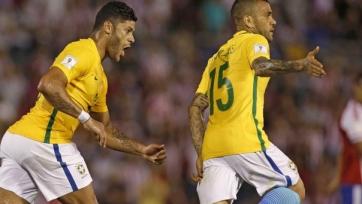 Сборная Бразилии чудом ушла от поражения в матче с Парагваем