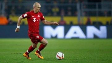 Роббен не сможет помочь «Баварии» в матчах с «Бенфикой»