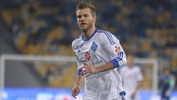 Андрей Ярмоленко – лучший игрок киевского «Динамо» в марте