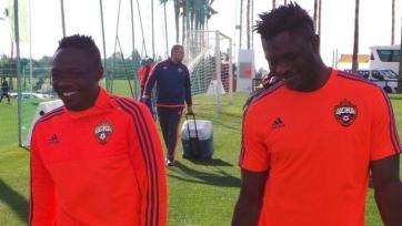 Муса и Оланаре ещё не вернулись в расположение ЦСКА
