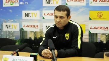 Агаларов: «Мы сегодня заслужили хотя бы одно очко»