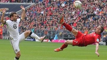 «Бавария» добыла три очка в игре с «Айнтрахтом»
