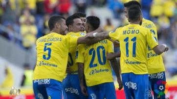 «Лас-Пальмас» одержал волевую победу над «Валенсией»