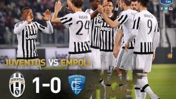 «Ювентус» одолел «Эмполи» с минимальным счётом